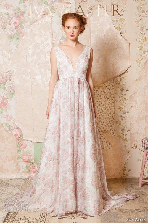 Ivy & Aster Spring 2016 新娘婚纱礼服系列