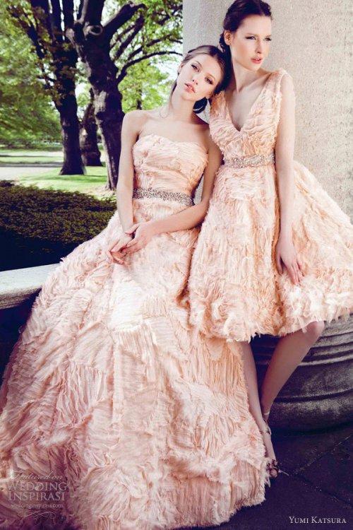 国外品牌婚纱Yumi Katsura(桂由美)春夏婚纱礼服欣赏