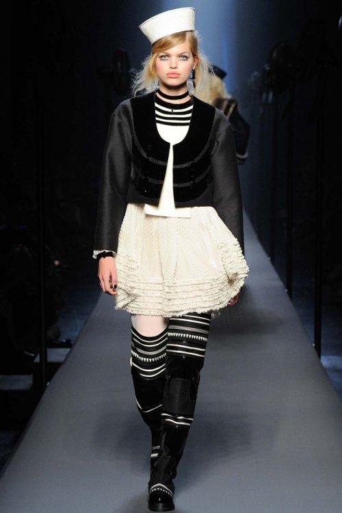 Jean Paul Gaultier(高缇耶)2015巴黎时装秀