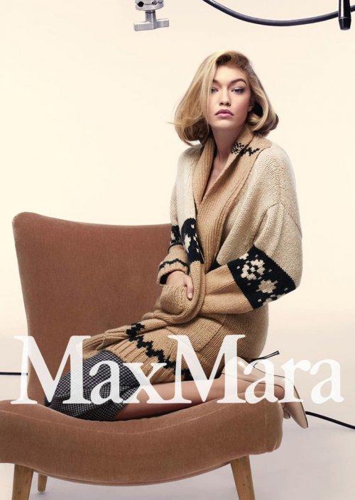 Max Mara(麦丝玛拉)2015商业广告大片