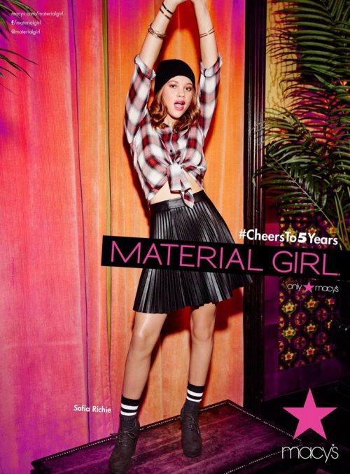 Material Girl 2015秋冬商业广告摄影