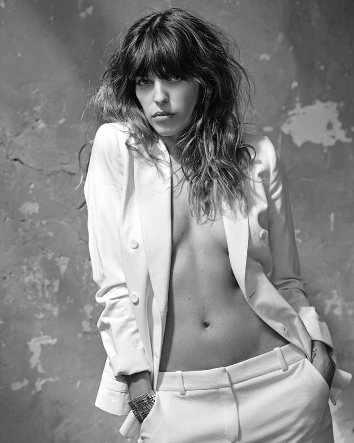 Lou Doillon《S Moda》杂志2015年7月号
