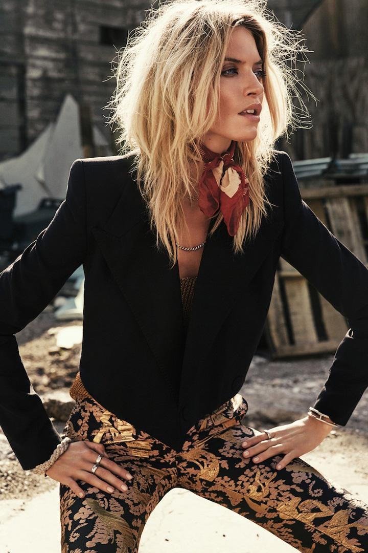 Martha Hunt《S Moda》杂志2015年6月号