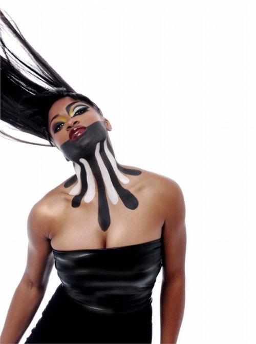 2015时尚创意彩妆图片大全 霸气个性突破极限