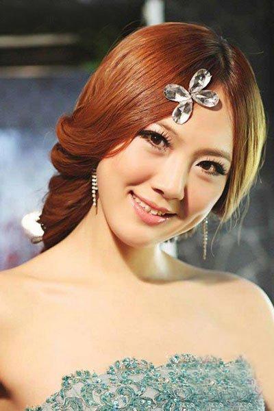 2014韩式新娘妆容图片 打造时尚靓丽美新娘