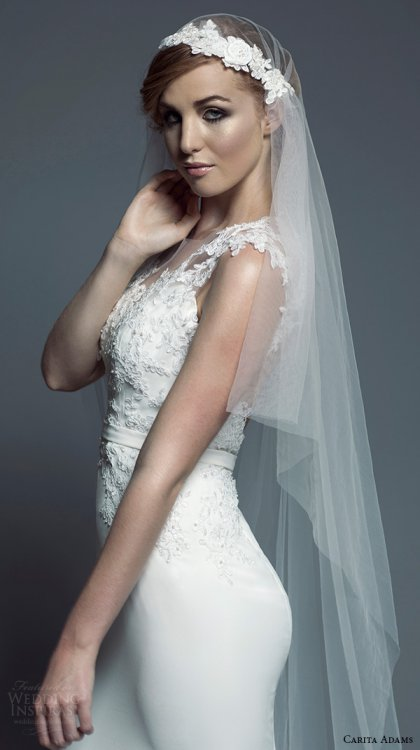 Carita Adams 2015新娘婚纱系列