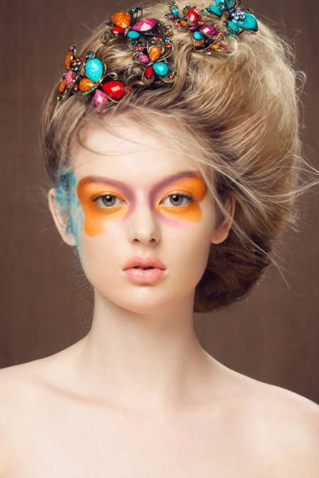 流行创意彩妆造型图片 挑逗完美视觉