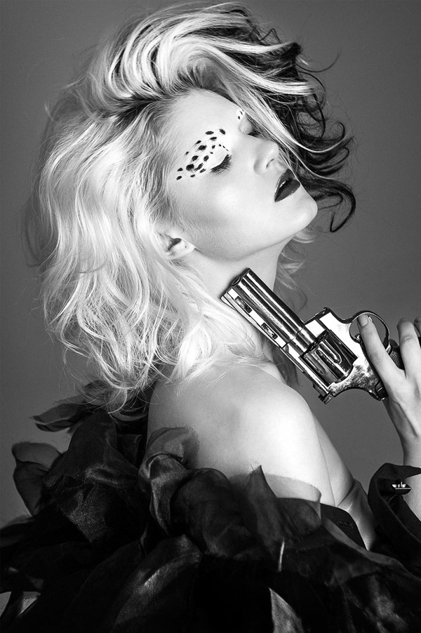 Mario Ardi时尚流行童话主题彩妆图片