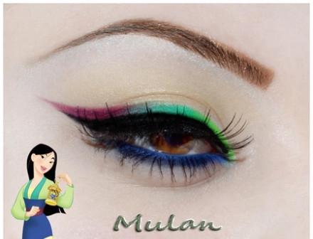 创意彩色时尚眼妆 打造漂亮迷人双眸