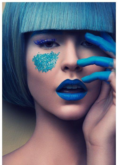 创意时尚彩妆造型图片 大肆挑逗视觉冲击