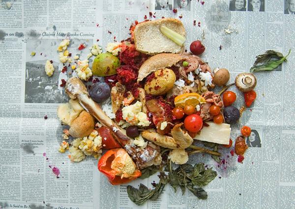 Dinah Fried摄影作品:小说中的美食