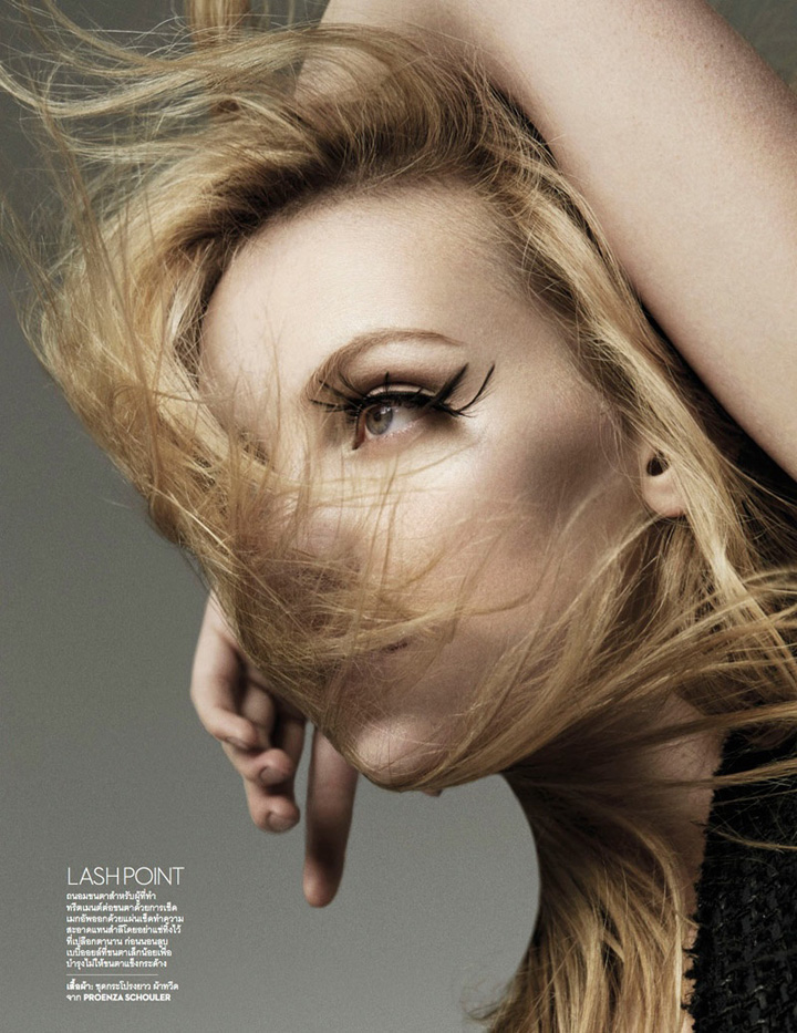 Heather Marks《Vogue》泰国版2015年8月号