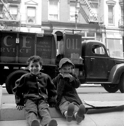 Martin Elkort街头摄影作品