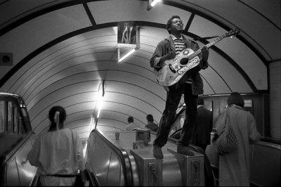 Bob Mazzer摄影作品:伦敦地铁