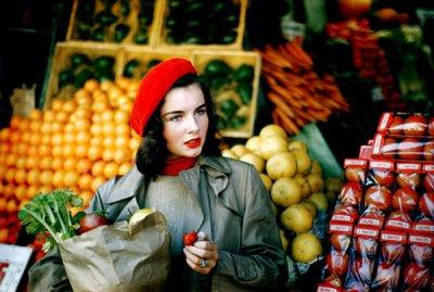Ruth Orkin的早期彩色摄影作品