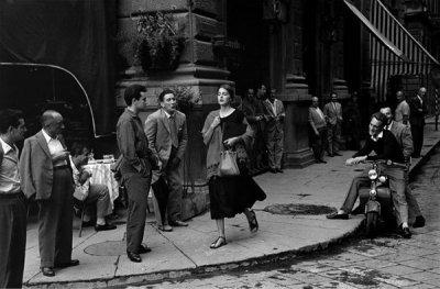 Ruth Orkin黑白摄影作品