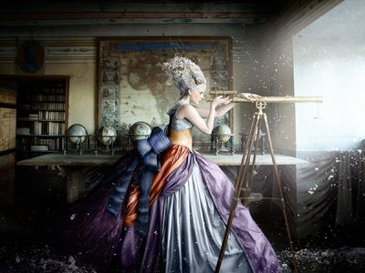 Alexia Sinclair摄影新作:被冰封的故事