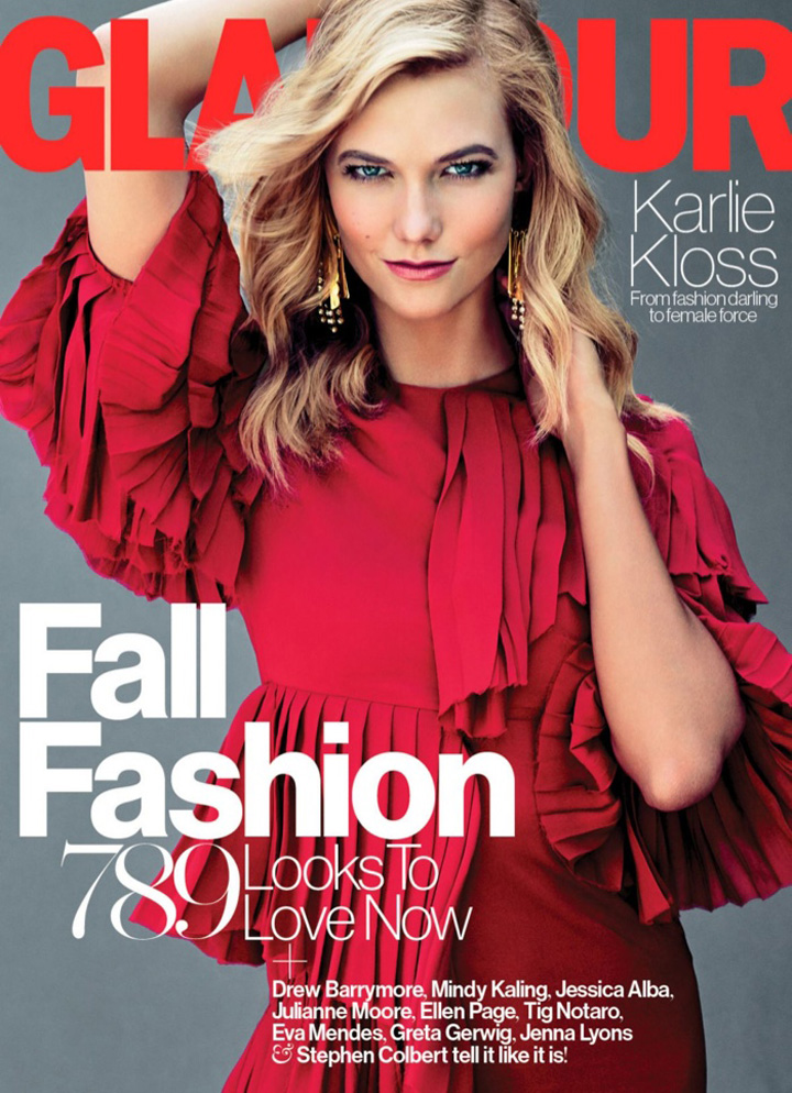 Karlie Kloss《Glamour》杂志2015年9月号