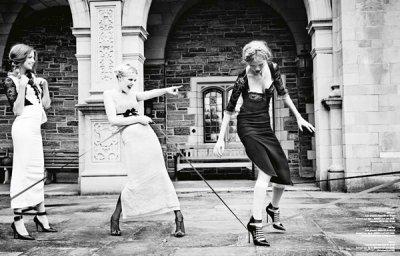 Ellen von Unwerth时尚摄影作品