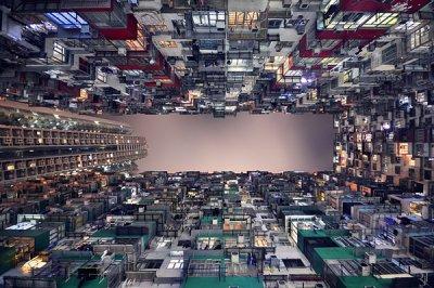 Romain Jacquet-Lagrèze摄影作品:香港印象