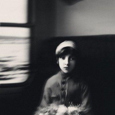 Patrick Gonzales黑白摄影作品