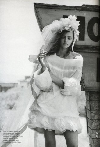 Peter Lindbergh时尚摄影作品:新婚