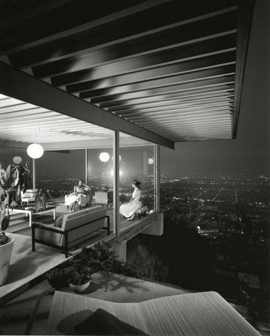 Julius Shulman的建筑摄影作品