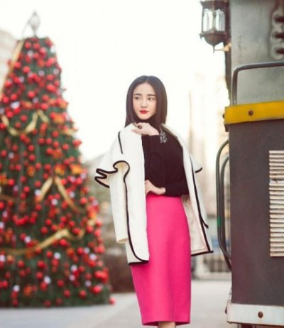刘雨欣秋冬时尚街拍