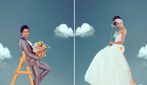 赏析2015流行个性婚纱照 找到适合自己婚纱照的流行形式