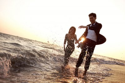 旅游婚纱照拍摄技巧分析 记录新人最浪漫的时刻