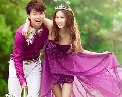 韩式婚纱照片欣赏 风格迥异引发遐想