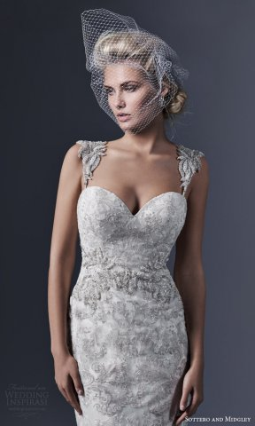 Sottero and Midgley 2015婚纱礼服系列