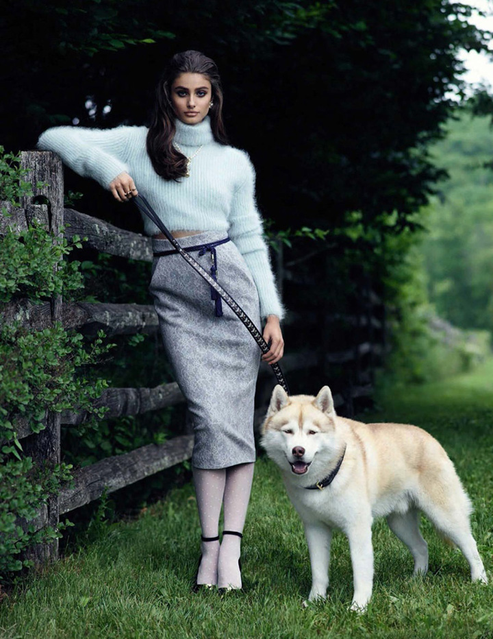 Taylor Hill《Vogue》西班牙版2015年9月号