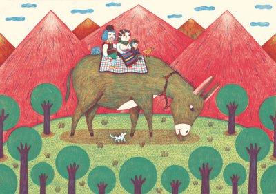 德国插画师Ana Albero插画设计作品
