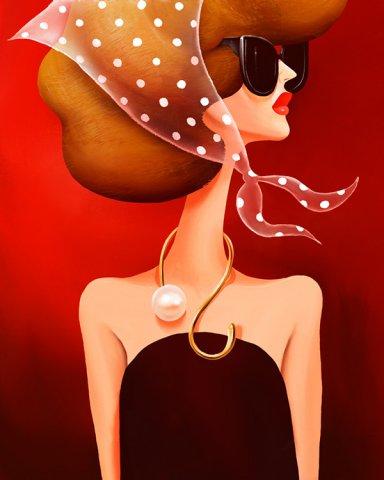 俄罗斯杂志Grazia 的星座插画设计欣赏