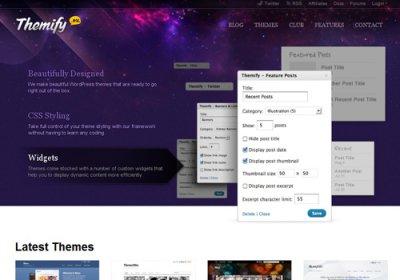 网页设计灵感:33个漂亮的紫色网站欣赏