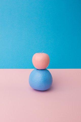 水果彩色形态创意摄影