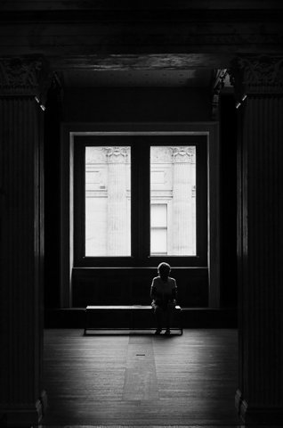 简洁黑白摄影作品