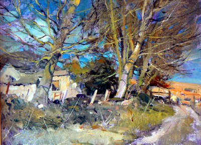英国David Curtis风景油画