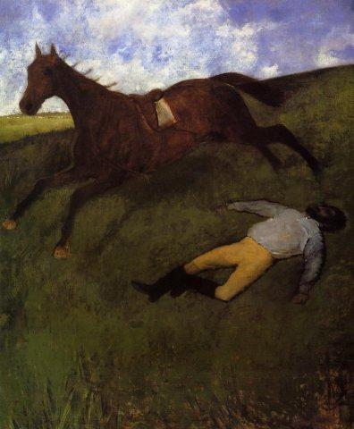 法国印象派画家埃德加·德加(Edgar Degas)人物油画三