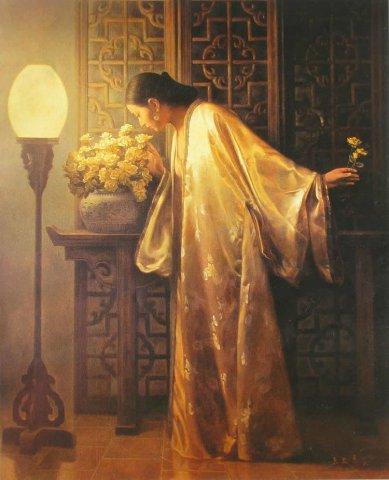 名家笔下的女性油画欣赏