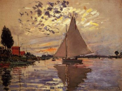 法国克劳德·莫奈(Claude Monet)风景油画
