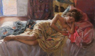 西班牙艺术家Vicente Romero Redondo油画作品欣赏