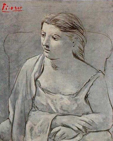西班牙巴勃罗·鲁伊斯·毕加索(Pablo Picasso)油画作品欣赏大全五