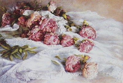瑞士Fereshte Shishine静物油画作品欣赏