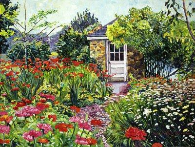 David Lloyd Glover油画风景