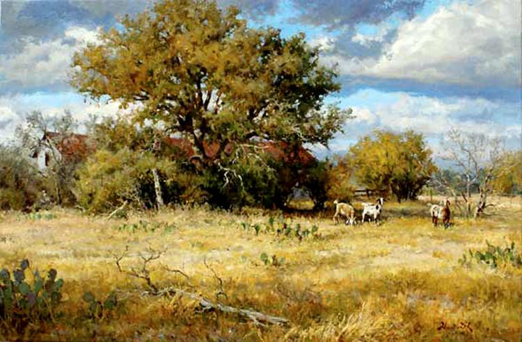 美国画家mark haworth油画风景