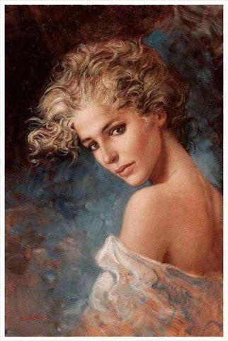 意大利画家布鲁诺迪·马尤(Bruno Di Maio)人体油画