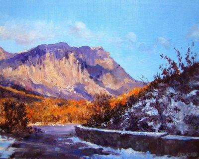 俄罗斯Elena Yushina风景油画作品欣赏