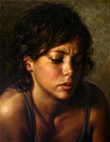 玻利维亚Remy Daza Rojas人物油画作品欣赏